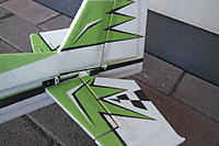 Name: SAM_0394.jpg Views: 123 Size: 505.1 KB Description: Whole elevator came loose in hard landing on snowy walkway, tail skidded and elevator hit icy wall sideways.