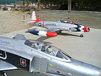 Name: P1030617.jpg Views: 227 Size: 189.6 KB Description: The T-33 would look great flying the F-4's wing