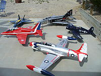Name: P1030627.jpg Views: 246 Size: 182.5 KB Description: The T-33 makes a great addition to the 2011 fleet.