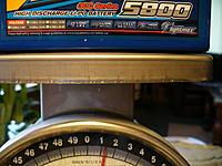 Name: P1030639.jpg Views: 147 Size: 163.4 KB Description: 5800 looks like 1 pound 5 oz.