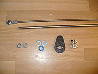 Name: P1050188.jpg Views: 198 Size: 224.5 KB Description: The blue bearing is a thrust bearing so I can pull the stab tight against it and there will be no drag.