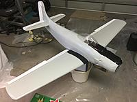 Name: 35B7AB35-ECF0-4DE0-951C-CCDB04B65006.jpeg Views: 8 Size: 1.87 MB Description: All 3 colours complete and test fit of control surfaces. Decals and clear coat to go. I might change the flaps back to grey