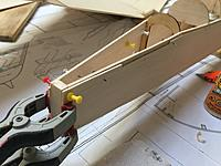 10. F36 and F37 installed. I had a 3mm error on left side so the F36 will be trimmed when i fit the tail