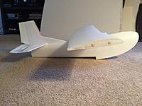 Name: Puddle Twin Side View.jpg Views: 60 Size: 651.1 KB Description: I added two balsa spars to the wing. My first wing seemed too flimsy to me, probably over thinking it.