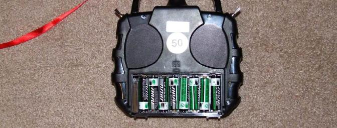 Readily available rechargeable batteries could easily be substituted and charged in the transmitter.