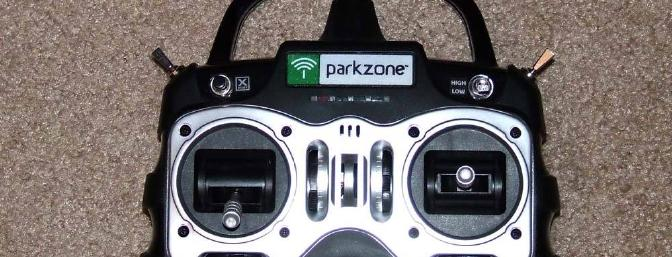 The included ZX10 transmitter