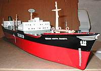 """Name: wm3.jpg Views: 877 Size: 40.8 KB Description: A bow shot. Even the draft markings are in the correct place. The TEXACO logo went on the side of the hull around 1959, when the ship was renamed from """"North Dakota"""" to """"Texaco North Dakota""""."""