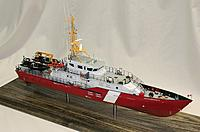 """Name: robertson_02.jpg Views: 495 Size: 125.0 KB Description: Canadian CG boat, 26"""" long and entirely 3D printed."""
