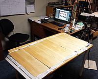 Name: b20150816_120458.jpg Views: 357 Size: 225.1 KB Description: Epoxying 8 square feet of basswood sheet.