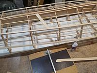 Name: b20150816_163028.jpg Views: 367 Size: 231.9 KB Description: And the first plank goes on!