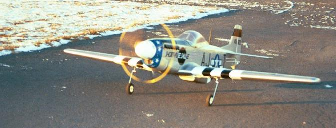 Here she is taxing back, snow visible on the runway, and that 4 blader looks way cool!