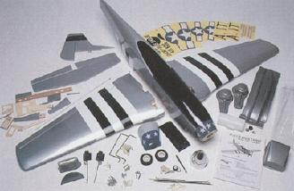 The complete kit contents.