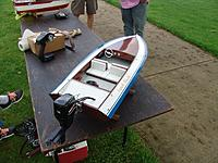 Name: STERN SHOT.jpg Views: 125 Size: 1.44 MB Description: I showed the boat for the first time at our club meet last week.  Lousy weather did not run the model.