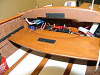 Name: DSC07901-1.JPG Views: 112 Size: 1.91 MB Description: Behind the hinged fold down back seat is where the steering servo and the radio receiver and the battery box for the working running lights as well as the sound control for the working air horns.