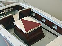 Name: Engine box and interior.jpg Views: 62 Size: 933.2 KB Description: Interior of the HIGGINS showing the engine box, back forward seat structure and the mahogany side covering boards with storage compartments.