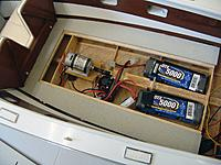 Name: DSC07969.JPG Views: 77 Size: 1.62 MB Description: With the center deck removed we gain access to the main power batteries.