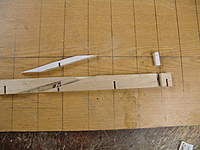 Name: DSC04389.jpg Views: 323 Size: 82.1 KB Description: Cut out the balsa keel for the rudder stuffing box and the propeller stuffing box.