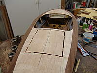 Name: DSC04639.jpg Views: 356 Size: 72.0 KB Description: Both covering board have been glued in position on the sub decking.  Note how the covering boards run flush with the inside of the cockpit (shears).