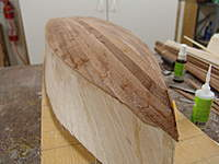 Name: DSC05003.jpg Views: 483 Size: 58.2 KB Description: The bottom of the hull is completely planked with the mahogany strips.