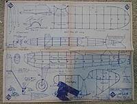 """Name: USEtboltplan.jpg Views: 43 Size: 1.12 MB Description: This plan was enlarged  200 % in 2006 to build the Jimmy Allen Thunderbolt..... Original span is 24"""",   this build is  48"""""""