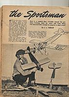 Name: sportsmanI.jpg Views: 116 Size: 834.2 KB Description: from Vol. 1 No. 1  1947 AIR WORLD by J.L.Sadler.....