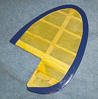 Name: kordaverticleII.JPG Views: 53 Size: 604.1 KB Description: finished 11-20-14, the all flying fin is hinged, covered and painted....
