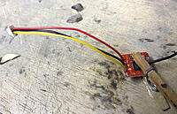 Name: a1-06.JPG Views: 117 Size: 107.0 KB Description: Replace the original receiver lead as appropriate.  I'll be using a Lemon with JST-SH terminals, so installed an SH lead where the ZH used to be.