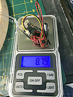 Name: a1-08.JPG Views: 167 Size: 137.1 KB Description: Solder other two motor leads when rotation is correct.  Total time expended is about half an hour, cost about $25, for a setup that weighs <9g with generous leads and will nicely power a plane up to 80g with a Nano-Tech 300mah.