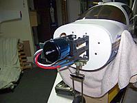 Name: Motor Mount 01.jpg Views: 79 Size: 55.8 KB Description: Lancair motor mount with back mount OS motor.