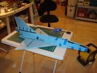 Name: DSC00314.jpg Views: 406 Size: 72.2 KB Description: Right fwd fuselage glued in place.