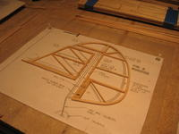 Name: #10 assembled and sanded.jpg Views: 266 Size: 87.6 KB Description: cut the rudder from the fin and sanded