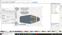 Edit skin in Inkscape taking into account PDF printing guide lines Export skin to PNG file using background image size