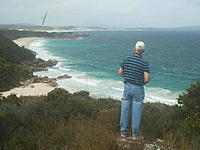 Name: 2013-03-01 15.30.00.jpg Views: 75 Size: 94.8 KB Description: Simon in 20-25kts at Ben Dearg Beach with Ceres.