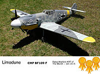 Name: Limodune_Balsa_ARF_of_The_Month_Jan_2019.jpg Views: 38 Size: 3.78 MB Description: CMP BF 109F Special Award Oak Leaves with Clusters! Congrats Mike!