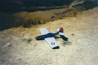 Name: P-51.jpg Views: 334 Size: 110.5 KB Description: First ever PSS plane. A Dave's Aircraft Works P-51 1998. At Lilly Shapell before it was Lilly Shapell.