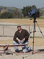 Name: 2009_0313_102327AA.jpg Views: 71 Size: 177.5 KB Description: Ground station for FPV.  March 2009