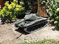 Name: P1020357.jpg Views: 65 Size: 323.4 KB Description: RC Tank with working airsoft gun for Main Gun