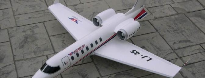 Hobby Lobby Executive Jet Twin Ducted Fan ARF Review - RC Groups
