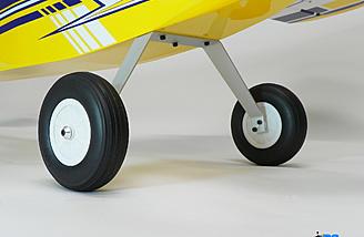 Main landing gear mounted.