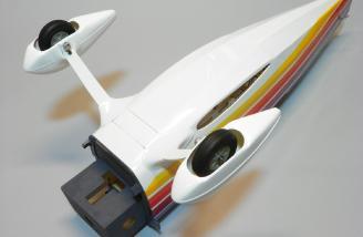 Main landing gear installed / bottom view.