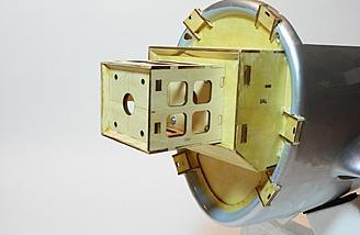 Electric motor box mounted.