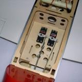 Servo tray installed