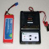 LiPo battery and balance charger.