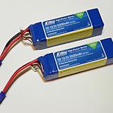 5000mAh 5S 18.5V 30C LiPo, 10AWG EC5 by E-flite
