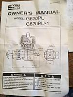 New Zenoah G62 Magneto Gasoline Engine with electronic ignition
