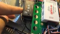 Name: h500-12.jpg Views: 573 Size: 139.3 KB Description: Prototype Tali H500: Receiver comparison for X8R users.