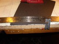 Name: Tape Hinge Step 1.jpg Views: 456 Size: 107.7 KB Description: Cutting the hinge. Note anti slip material under the foam.