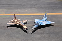 Name: IMG_3032.jpg Views: 1309 Size: 627.4 KB Description: Prototype Mirage and Prototype Tiger II.