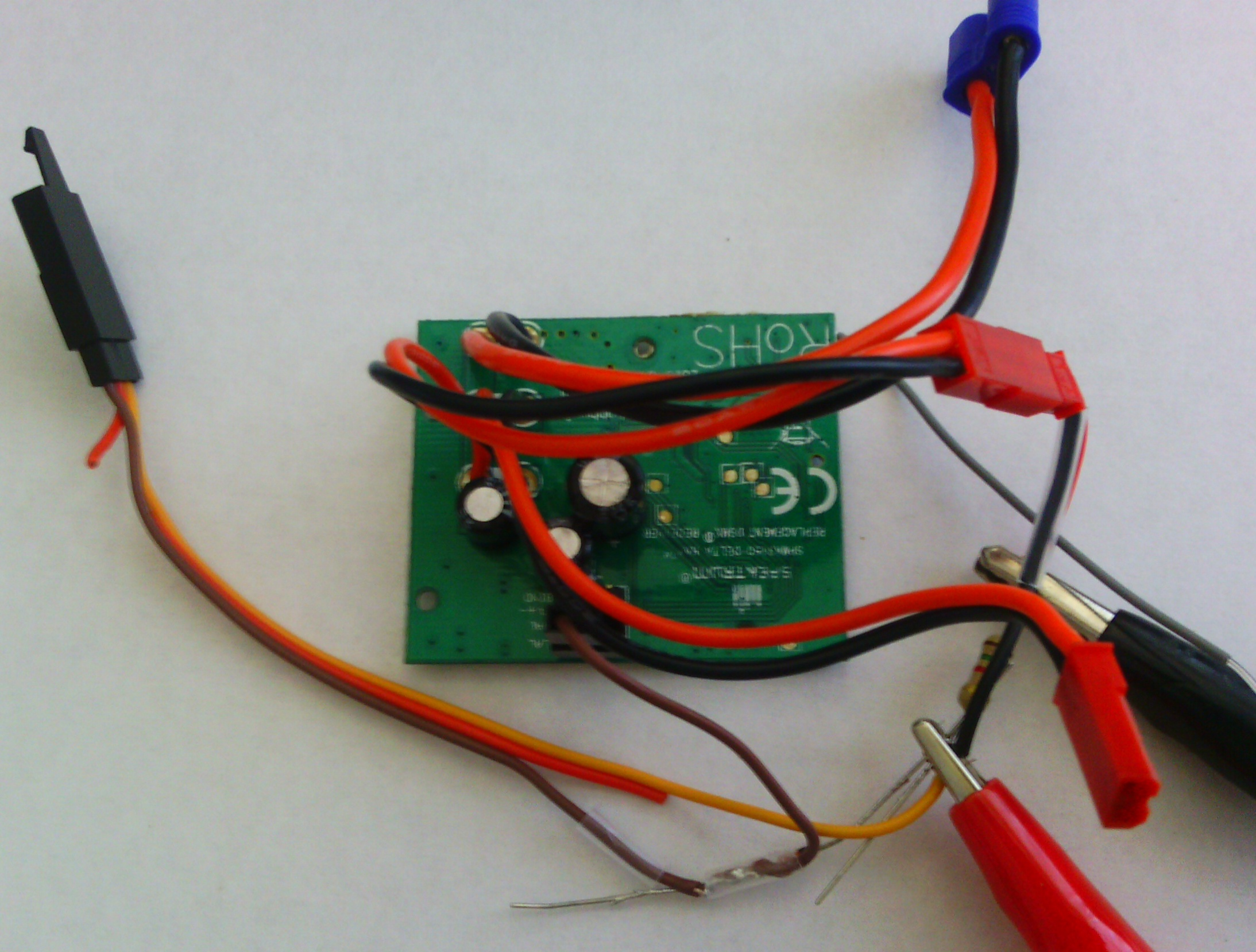 Diy Brushless Esc Signal Converter For Delta Ray Rc Groups Mcpx Bl Servo Wiring Diagram