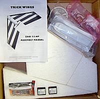 Name: two zagis -Kit 10-17-2012.jpg Views: 122 Size: 73.6 KB Description: Zagi 33 Kit  I Just opened the box.